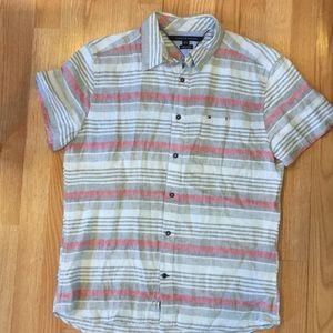Men's Tommy Hilfiger Custom Fit Shirt, Size Large